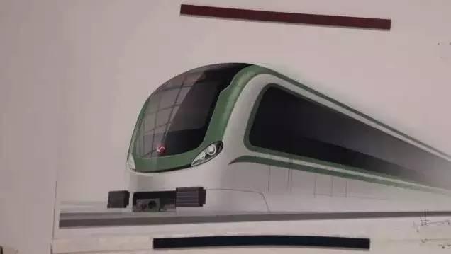 曹鸣老师的无锡地铁2号线外观设计